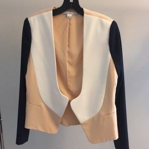 Diane von Furstenberg colorblock blazer